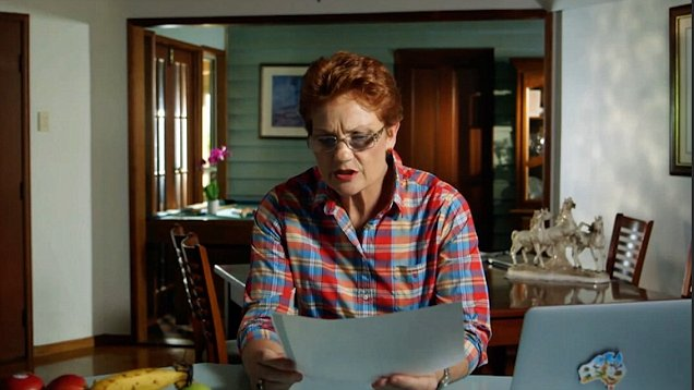 Pauline Waiting For Boring Budget Stuff To Wrap Up Before She Rips Into Muslims Again