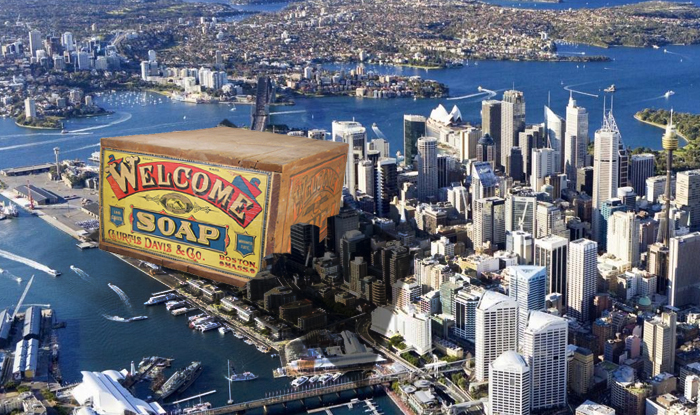 Sydney Writers' Festival Apologises For Giant Soap Box Sitting In Middle Of Cultural Precinct