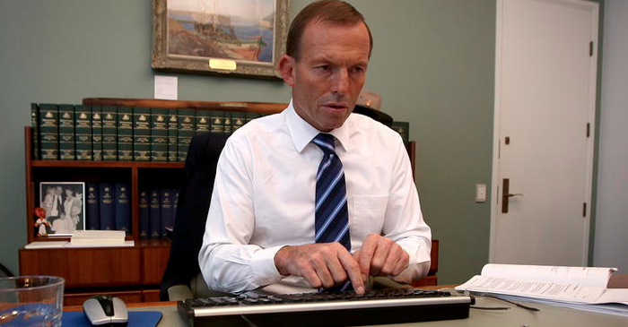 Abbott Begins Sending Condolences To 15% Of His Electorate