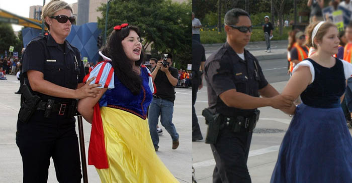 Cinderella And Snow White Arrested On Drug Charges During 'Disney On Ice' Rehearsals