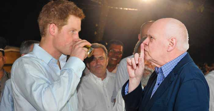 Prince Harry Told To Quiet Down By Baby Boomer Property Investor While In Sydney Pub