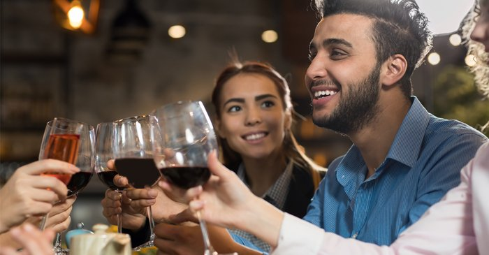 Local Man Rejects Toxic Stereotypes By Cracking Open A Warm One With Female Friends