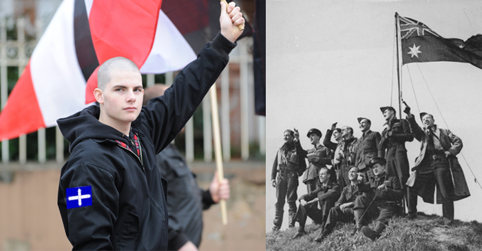 Neo-Nazi Wants Australia To Go Back To How It Was When His Pop Was At War With Nazis