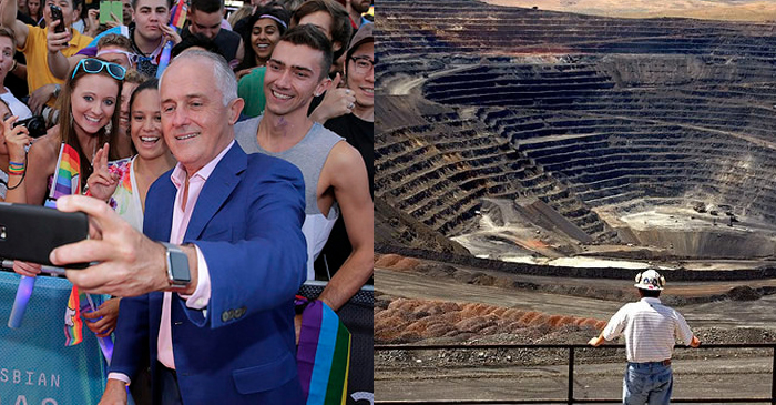 PM Promises He'll Get Back To The Gay Marriage Thing When Adani Is Up And Running