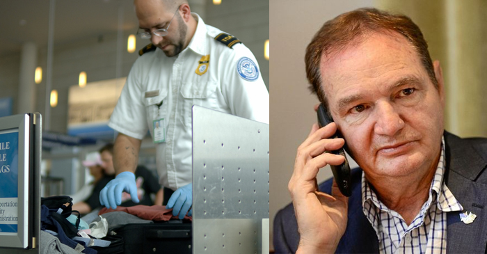 """""""What Is It With Wogs And Cash?"""" Asks Airport Cop After Searching Ipswich Mayor's Bags"""