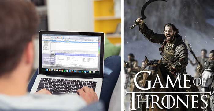 Local man fires up BitTorrent for first time since the last GOT season