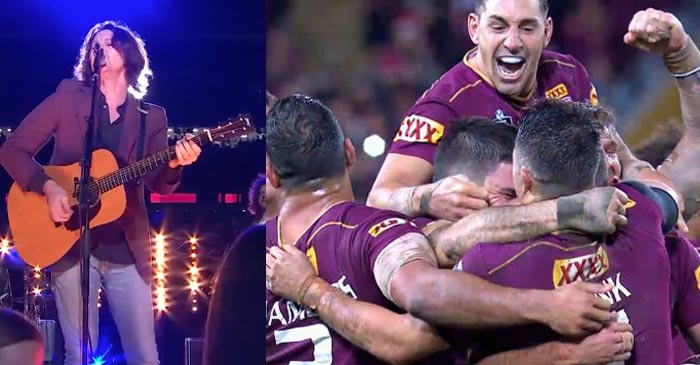 QLD Maroons Criticised For Their Use Of Performance-Enhancing Bernard Fanning Music