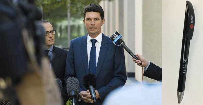 Disgraced Scott Ludlam Confesses To Accidentally Stealing A Pen From The Bank In 1997