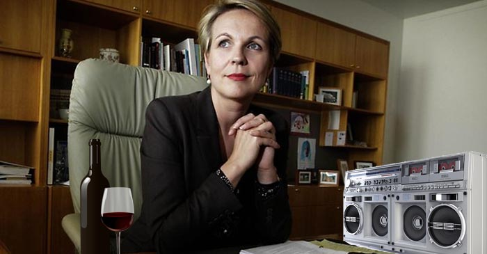 Nostalgic Tanya Plibersek Pours A Glass Of Red And Puts On Some Mary J. Blige