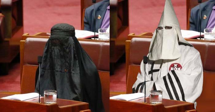 One Nation Disappointed Pauline Didn't Wear The White Outfit From The Rallies
