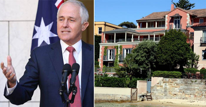 Turnbull reveals postal vote on gay marriage will only cost twice as much as his house is worth