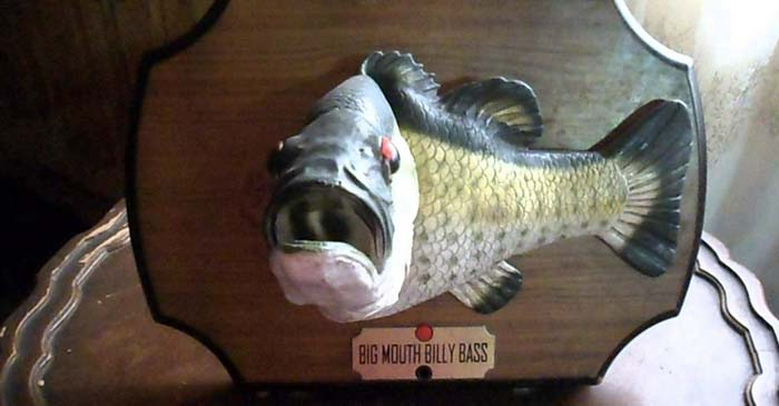 Report: Big Mouth Billy Bass Still Good For A Laugh