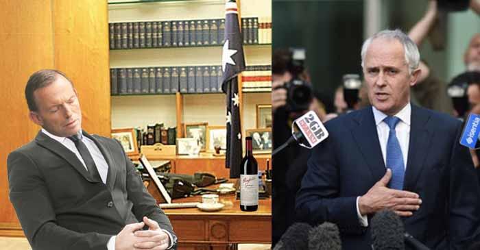 Abbott Reveals He Slept Through 2015 Libspill After A Couple Bottles Of Red