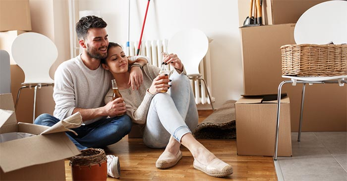 Young couple buys home after finally taking Joe Hockey's advice to get better jobs