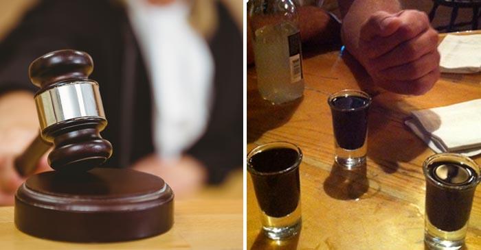 Man gaoled after tricking friend into having a shot of black sambuca