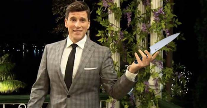 Osher Escorted Off Set Of Bachelor After Literally Cutting The Tension With A Knife