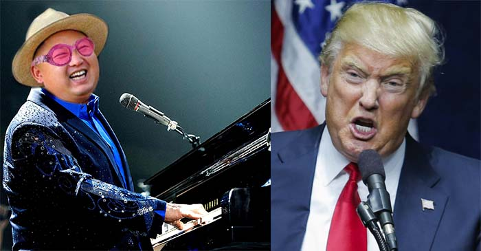 Kim Jong-Un responds to Trump's 'Rocket Man' insults by calling him 'Tiny Dancer'