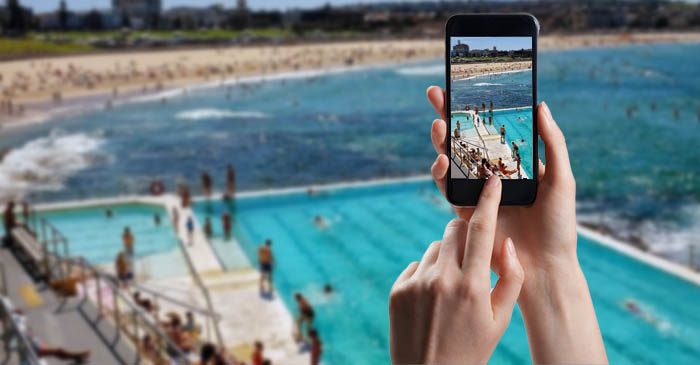 Local Girl Who Just Made The Move To Bondi Posts 17th Photo Of Bondi Icebergs To Instagram