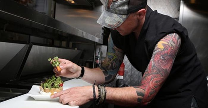 Local Man Begins Chef Training With Two Full Tattoo Sleeves And A Gram Of Goey