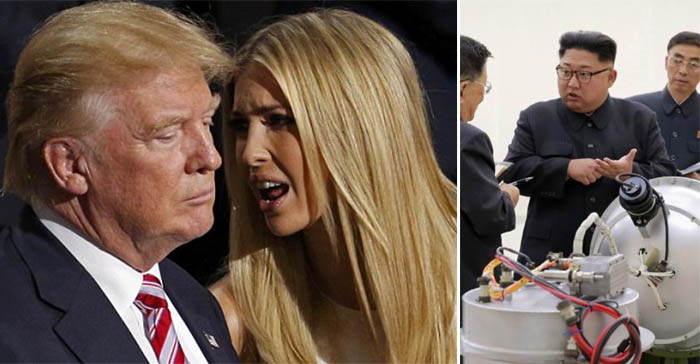 US President consults local handbag designer about dealing with rouge nuclear state