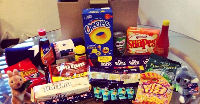 Australian Living In London Receives Care Package Of Aussie Foods She Never Really Ate When She Lived Here