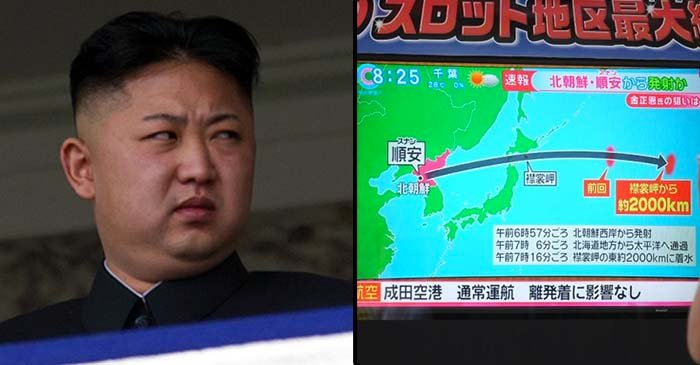 Kim Jong-un reportedly 'furious' after yet another missile fails to hit Japan