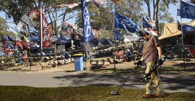 V8 Fan Scours Bathurst Campsite For The Extra Boxes Of Tins He Buried Last Month