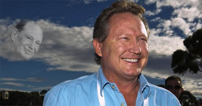 Ghost of Kerry Packer looks down on Twiggy Forrest and smiles