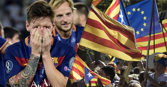 Catalans Backflip On Independence After Realising Barcelona Will Be Kicked Out Of La Liga