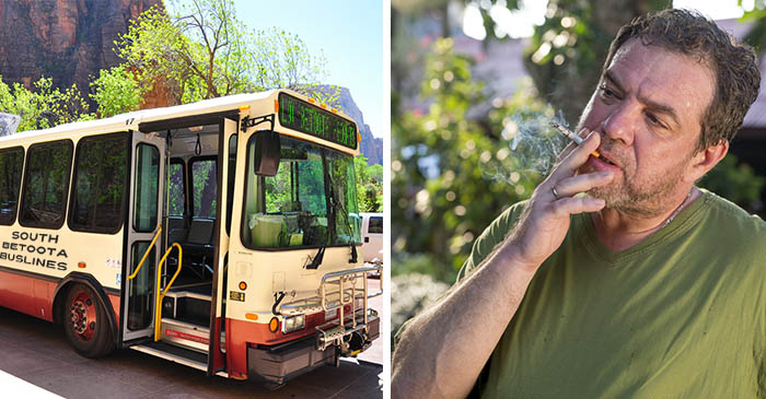 New Study Launched Into Why Local Buses Magically Appear The Moment Someone Lights A Cigarette