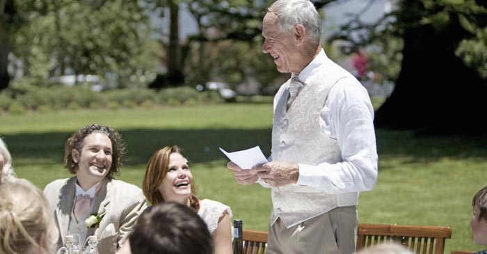 Father Of The Bride Treats Entire Wedding To The First Draft Of His Autobiography