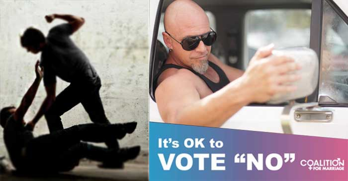 Man Who Used To 'Bash Poofters' For Fun Says Leftie Bullies Turned Him Off Voting Yes