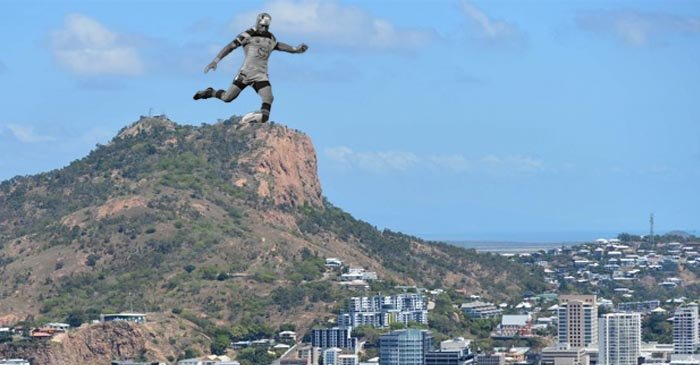Townsville Council Propose 80 Metre 'JT The Redeemer' Sculpture On Top Of Castle Hill