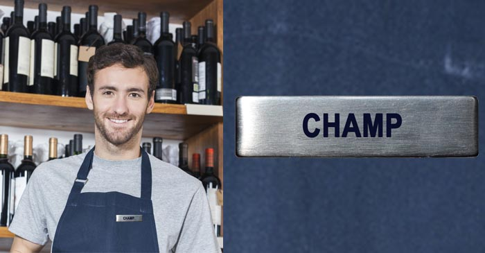 Bottle Shop Employee Considers Legally Changing His Name To 'Champ'