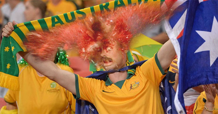 Local Gay Socceroos Supporter Literally Explodes
