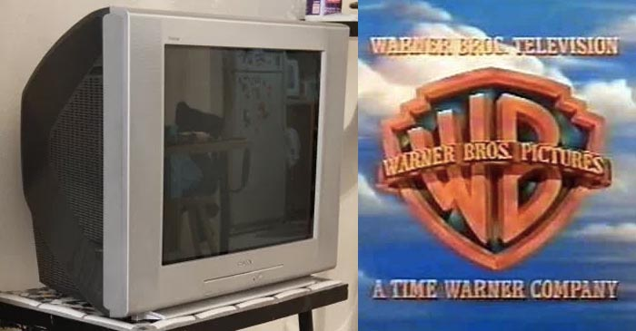 Fat-Back TV Sits In Parent's Garage As Tribute To All The Family Joy It Once Provided