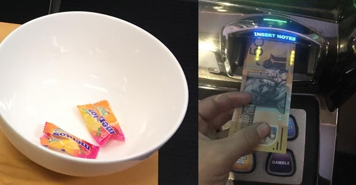 Complimentary Mentos Enough To Spur Punter Into Feeding Another Pineapple Through