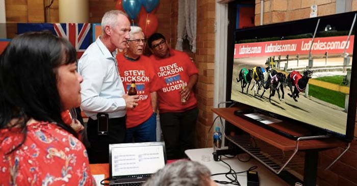 One Nation Staff Change Channels To Albion Greyhounds Halfway Through Election Coverage