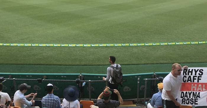Overexcited Cricket Fan Wastes Crucial Social Media Photo On Gabba Outfield Before Play