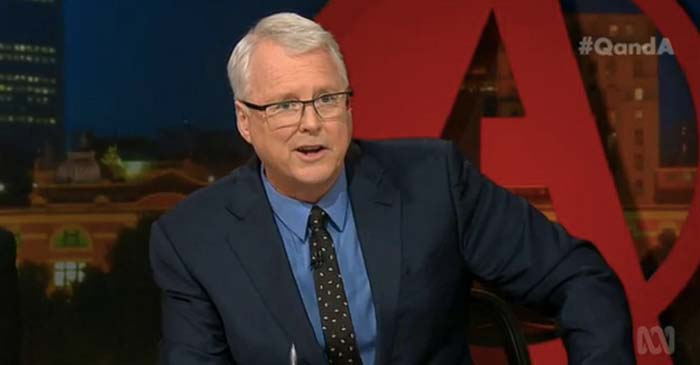 ABC Cuts Force Q&A To Scrap Canned Laughter For Tony Jones' Low Quality One-Liners