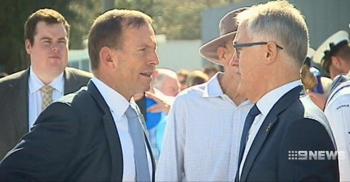 Turnbull Tells Abbott This Is The Last Time Australia Will Blow $122M To Stroke His Ego