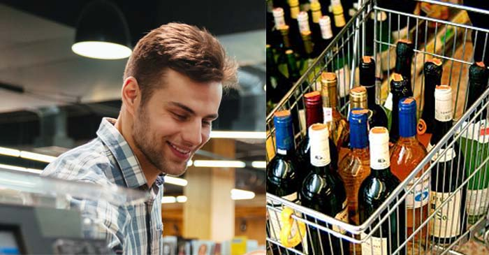 """Jeez, Party At Your Place Tonight?"" Asks Smart Arse In Bottle Shop"