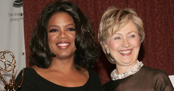 Democrats Say Oprah Is Plan B For 2020 Election If Hillary Doesn't Feel Up To It Again