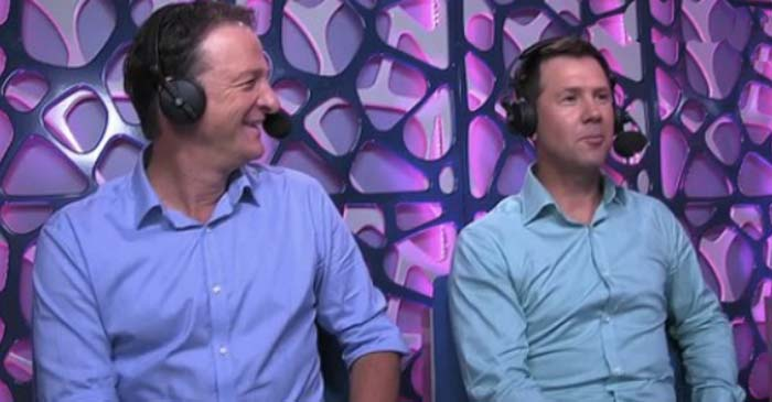 Punter And Mark Waugh Try Their Best To Sound Excited About Ch10 Shows Airing In 2018