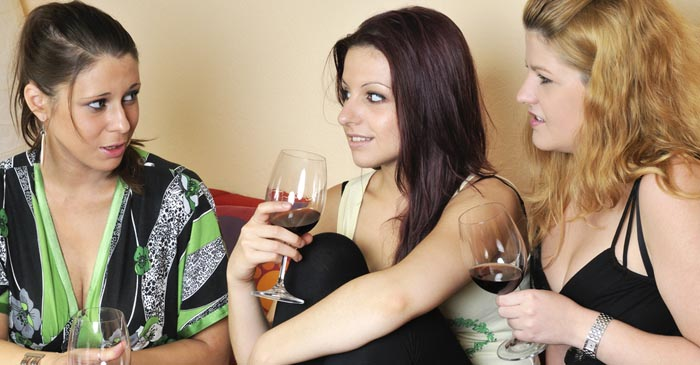 Local Girl White-Knuckles Through Wines After Introducing Two Alpha BFFs To Each Other