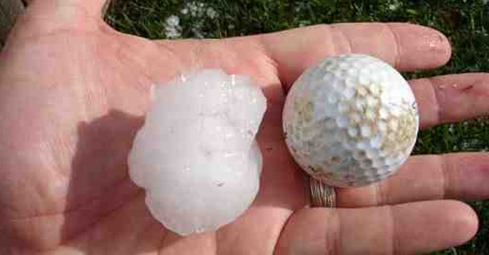 "Report: Storm Not Worth Reporting On Unless Hailstones Are ""The Size Of Golf Balls"""