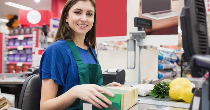 Panics Sets In As Cashier Finishes Up Swiping Groceries With Mum Nowhere In Sight