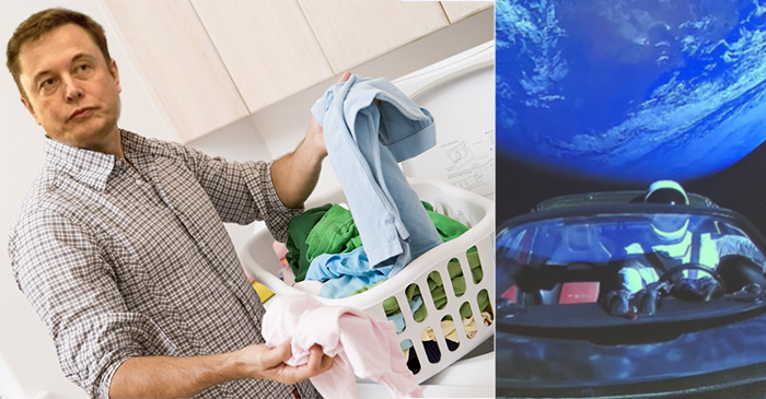 Elon Musk Checks Washing For Missing Wallet Before Realising It Was In His Car