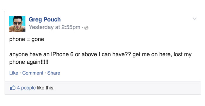 Local Battler Takes To Social Media To See If Anybody Has An Old Phone He Can Have