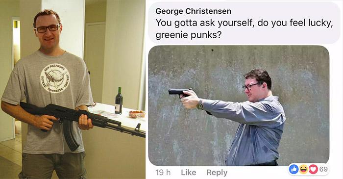 Di Natale Blows Dust Off Bob Brown's Communist-Era AK47 After Christensen Death Threats
